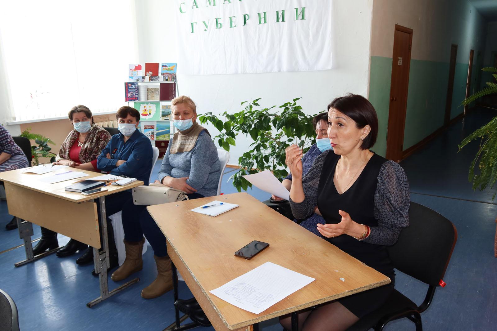 Круглый стол по вопросами взаимодействия НКО и ОМСУ в Камышлинском районе 10.03.21