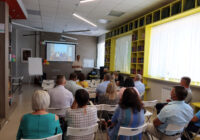 Презентация итогов участия в Школе фондов местных сообществ в Сергиевском районе